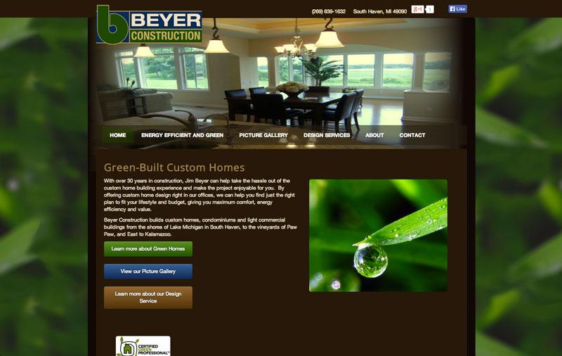 custom homebuilder website
