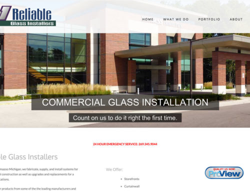 Reliable Glass Installers