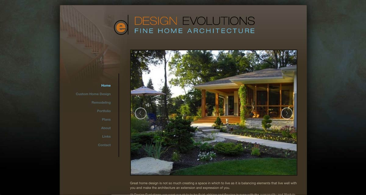 designevolutions website