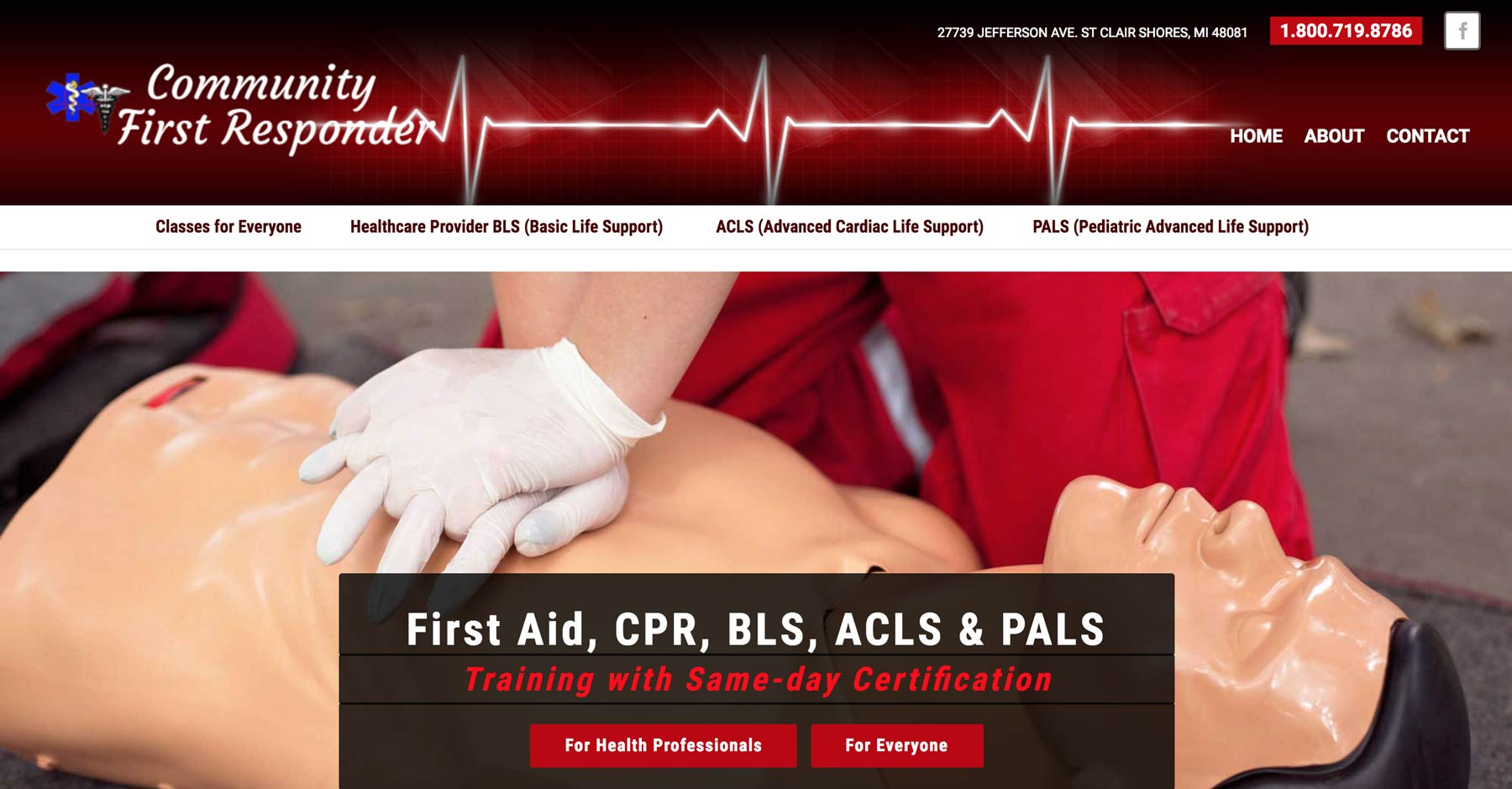 website for cpr training