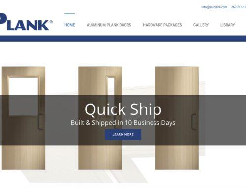 NuPlank Aluminum Doors