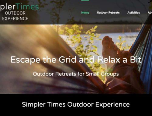 Website Design for Outdoor Adventure Company
